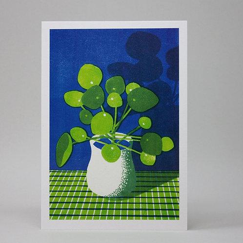 Set of 6 botanical greetings cards