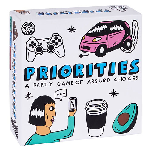 Priorities: A Party Game of Absurd Choices
