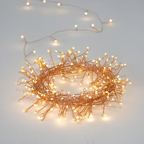 Mains Copper Cluster Fairylights