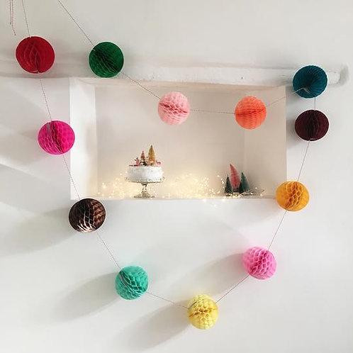 Petra Boase Paper Ball Garland