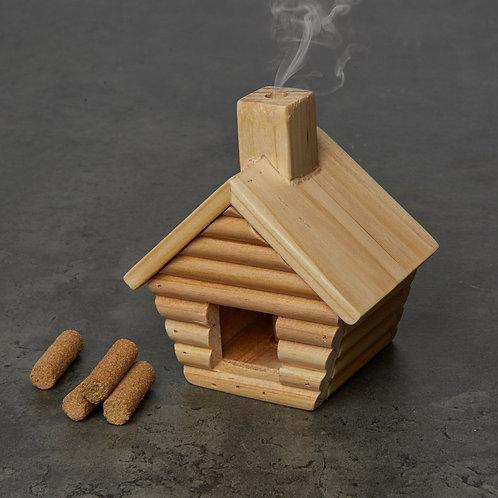 Kikkerland Little Cabin Incense Burner