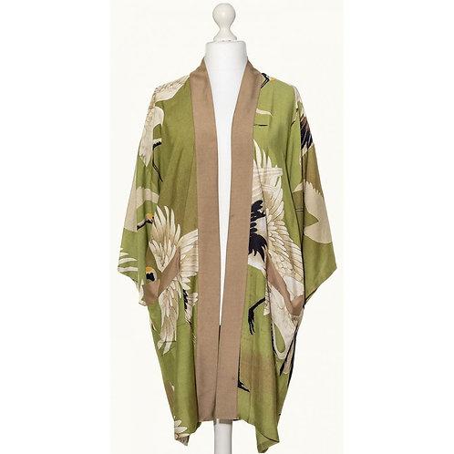 One Hundred Stars Collar Kimono