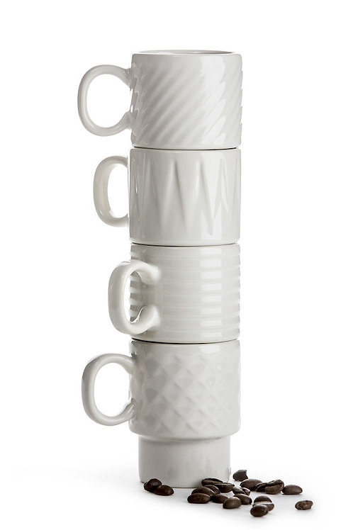 Sagaform Coffee & More Espresso Mug 4-pack