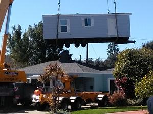 Crane Installation of an ADU