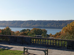 Wave Hill View of Hudson River