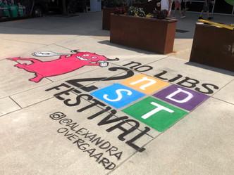 2nd Street Festival Live Art Drawing