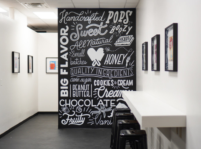 Custom Mural painted with 1Shot Paint