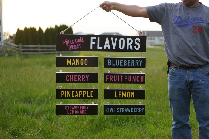 Flavor Board