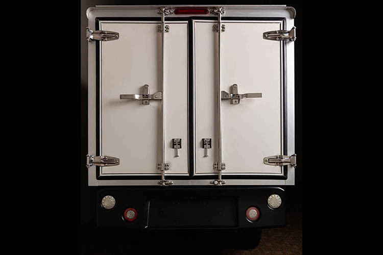 Club Car 411 Van Box Rear