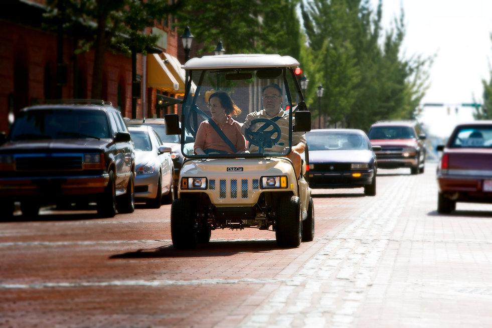club car neighborhood transportation