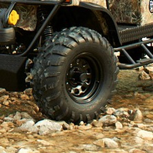 All-Terrain 6-Ply Tire with Steel Wheel Assembly (25x10-12)