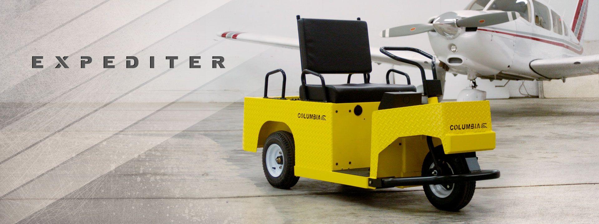 Yellow Columbia Expediter