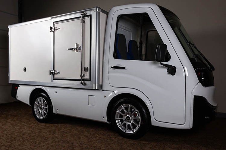 Club Car 411 with Van Box