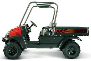 xrt1550 xrt 1550 4x4 utility vehicle utv cargo club car farm ranch propety