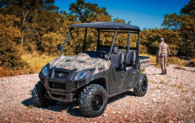 HuntVe Switchback 4x4 Crew electric UTV
