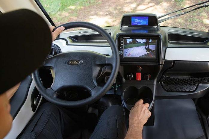 Club-Car-411-Utility-Truck-Interior-View