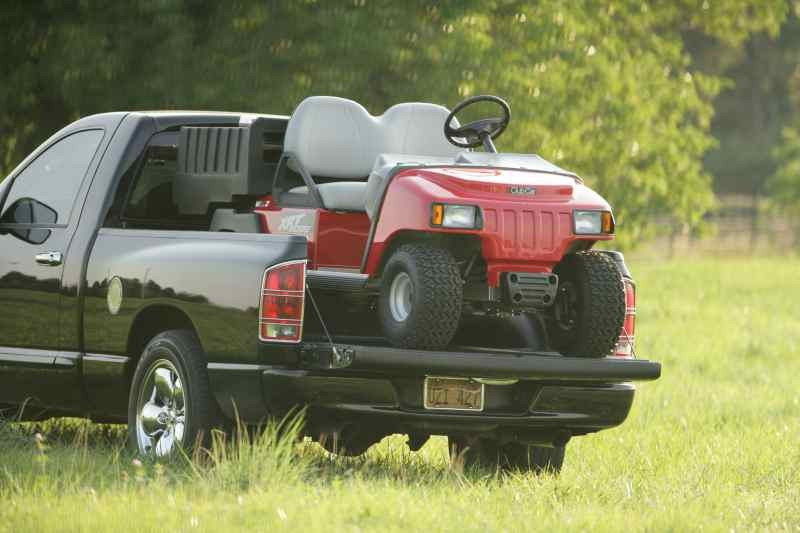 XRT 800 on truck bed