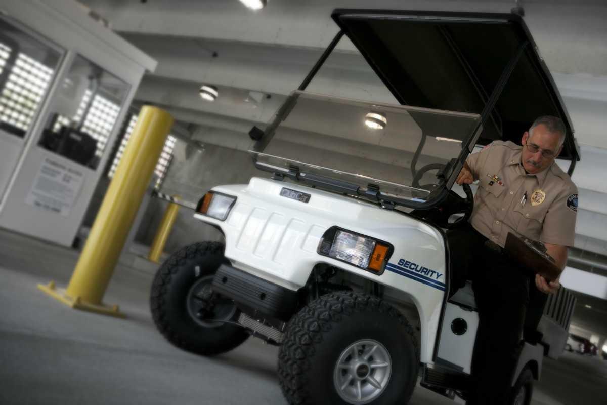 Club Car Carryall 100 Security