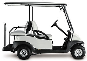 white club car golf cart