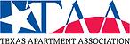 Texas Apartment Association logo, TAA