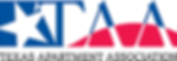Texas Apartment Association logo, TAA