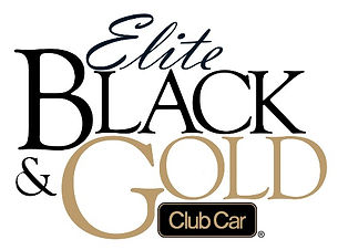 Elite Black Gold Club Car Dealer