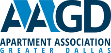 AAGD logo, Apartment assocition of greater dallas