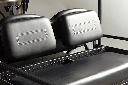 2011-2016 Rear Facing Seat Backs (2 Pieces) - Black Only