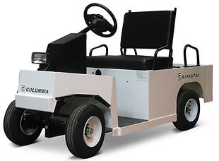 columbia expediter airport utility vehicle transport warehouse electric full