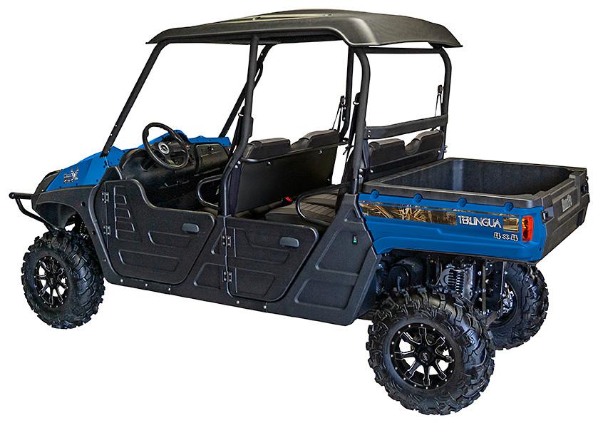 Blue 2019 Huntve Terlingua Crew 4x4