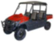 Huntve red terlingua crew utility vehicle utv