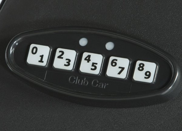 Club Car Security Keypad