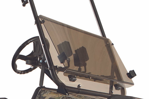 Hinged Fold Down Flip Windshield (Polymer)