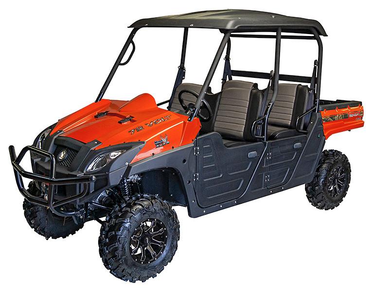 Orange 2019 Huntve Terlingua Crew 4x4