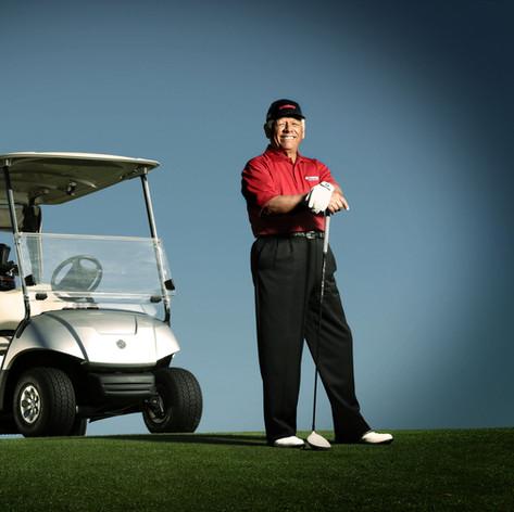 Lee Trevino Yamaha Golf Car