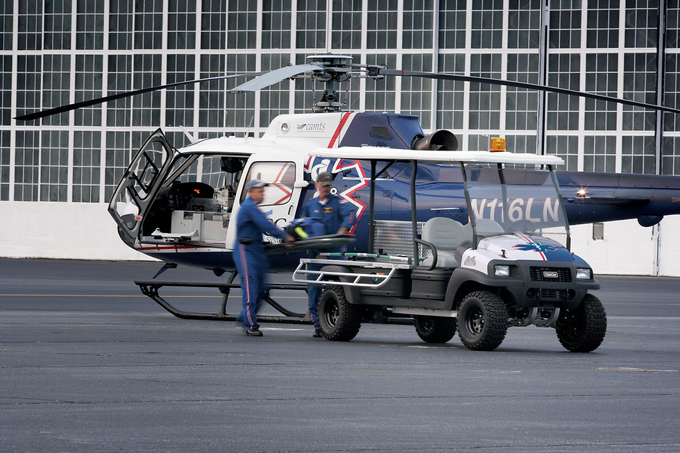 Carryall 1700 Helicopter Ambulance Image