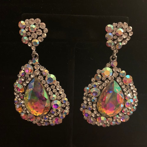 Helen's Heart AB Chandelier Earrings
