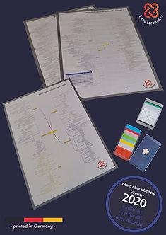 Geprüfter Wirtschaftsfachwirt IHK Lernkarten + 3 Poster + App + Box Stand 2020