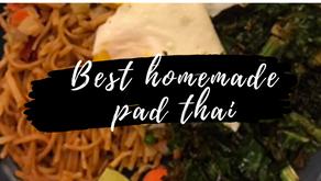 Homemade Pad Thai (Easiest Recipe Evvvva)