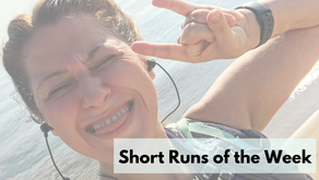 This Weeks Short Runs: Embracing Lake Michigan