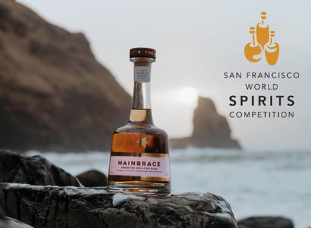 The results are in: Mainbrace wins its second award at The San Francisco World Spirits Competition