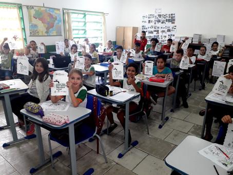 Saúde Nota 10 leva educação ambiental para sala de aula em Camboriú