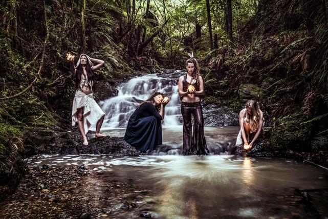 Forest Goddesses of Light