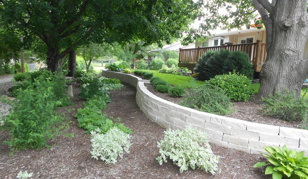 Retaining Wall, Master Landscape, Inc.