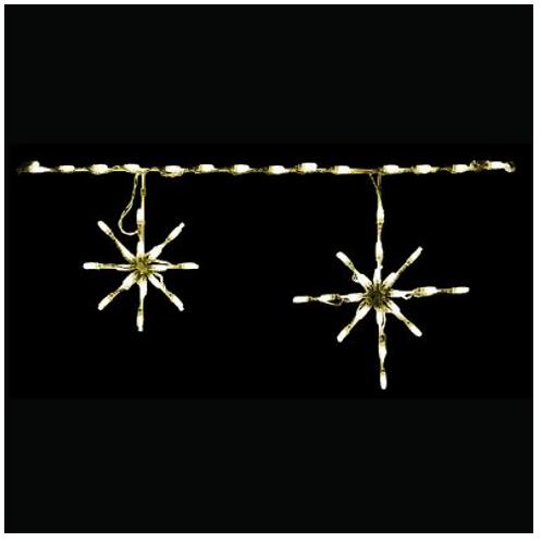 WARM WHITE Snowflake Linkables Kit of 6