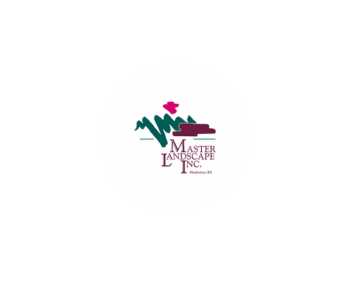 Master Landscape, Inc. logo with splash.