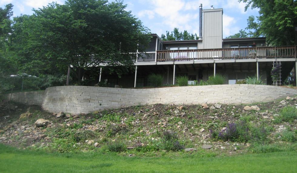 Large Retaining Wall, Master Landscape, Inc.