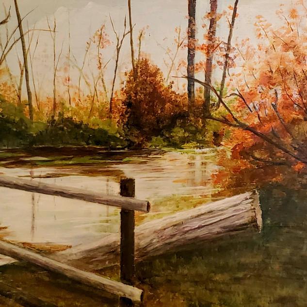 Peaceful Pond, Janice Cornett-Ching, 3D
