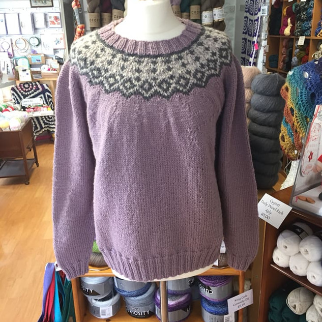 West Yorkshire Spinners Colourwork Sweater