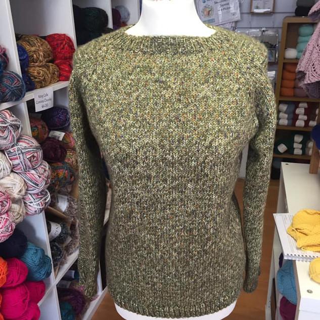 WYS Flax Sweater